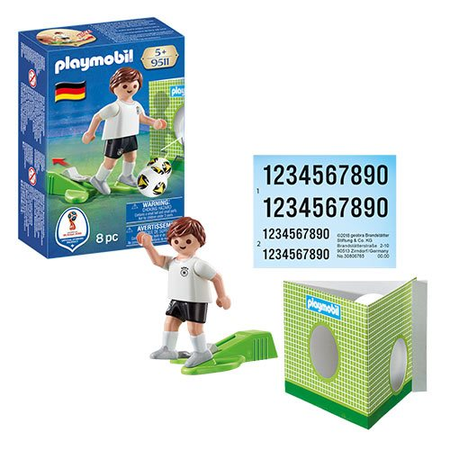 Playmobil 9511 Soccer National Team Player Germany Action Figure