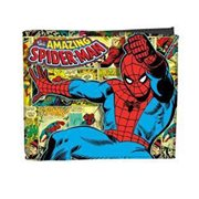 Spiderman Comics Billfold Wallet