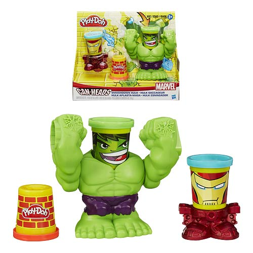 Hulk Play-Doh Smashdown with Marvel Can-Heads
