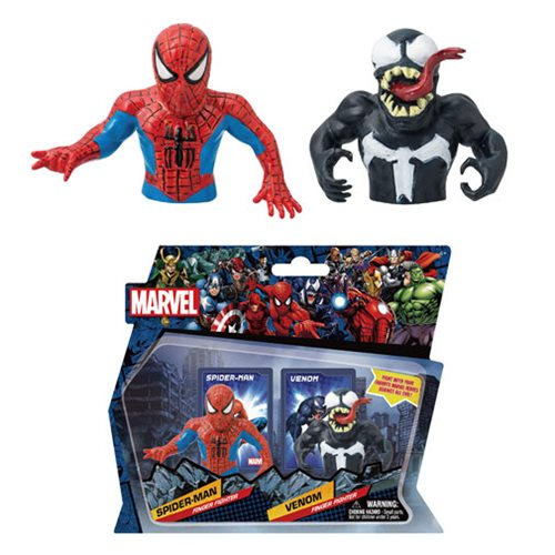 Marvel Spider-Man Vs. Venom Finger Fighter 2-Pack Set #1