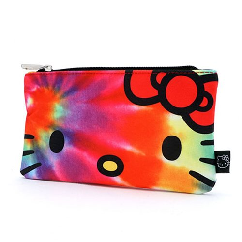 Hello Kitty Tie-Dye Travel Cosmetic Bag