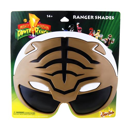 Power Rangers White Ranger Sun-Staches