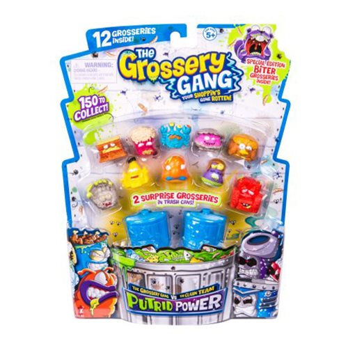 The Grossery Gang Series 3 Mini-Figure Large Pack