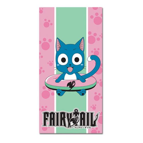 Fairy Tail Happy Towel