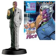 DC Superhero Two-Face Best Of Figure with Collector Magazine #19