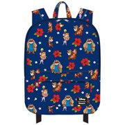 Rescue Rangers Floral Nylon Backpack