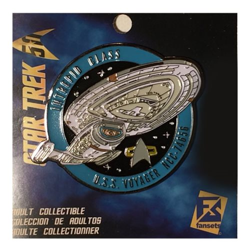 Star Trek Voyager NCC-74656 Pin