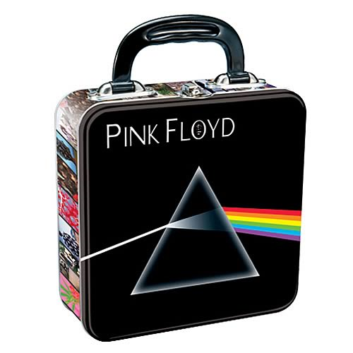 Pink Floyd Dark Side of the Moon Square Tin Tote