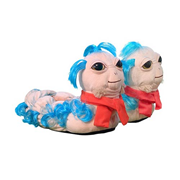Labyrinth The Worm Plush Slippers