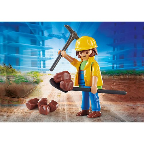 Playmobil 70560 Playmo-Friends Construction Worker Action Figure