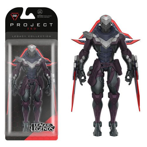 League of Legends Zed Legacy Action Figure