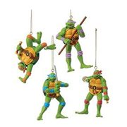 Teenage Mutant Ninja Turtles Retro Ornament Set