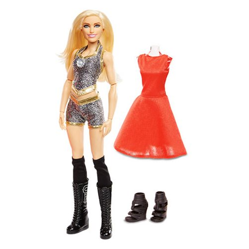 WWE Superstar Charlotte Flair Fashions Doll