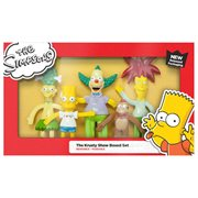 Simpsons Krusty Show Bendable Action Figure Boxed Set
