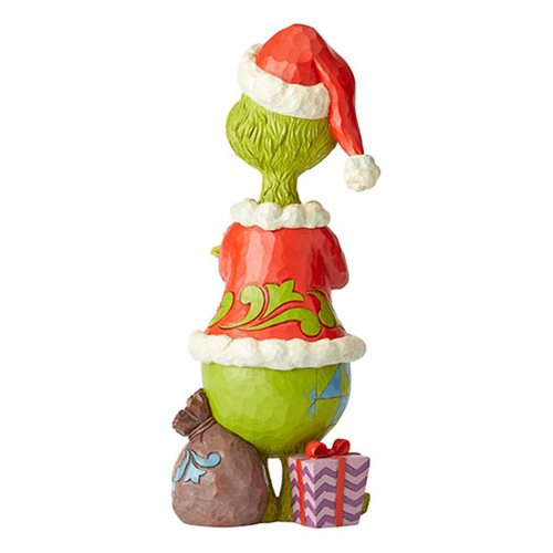 Dr Seuss The Grinch Statue With Arms Folded By Jim Shore Statue