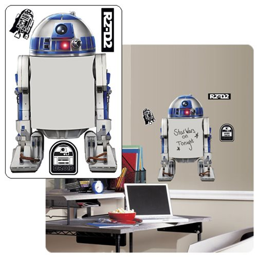 Star Wars R2-D2 Dry Erase Peel and Stick Giant Wall Decals