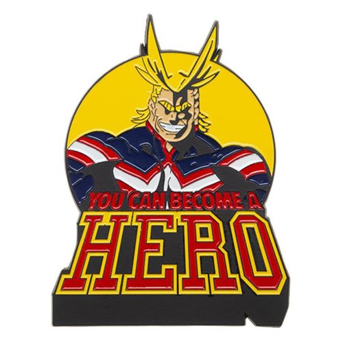My Hero Academia All Might 3-Inch Lapel Pin