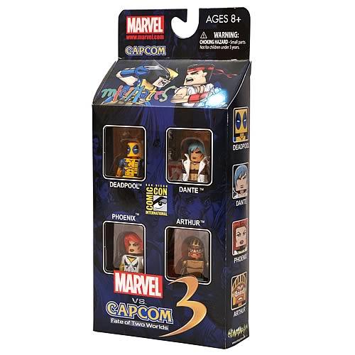 Diamond Select Marvel vs Capcom Minimates Box Set SDCC 2011