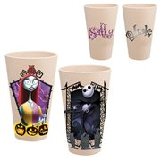 The Nightmare Before Christmas Jack and Sally 24 oz. Bamboo Tumblers 2-Pack Set