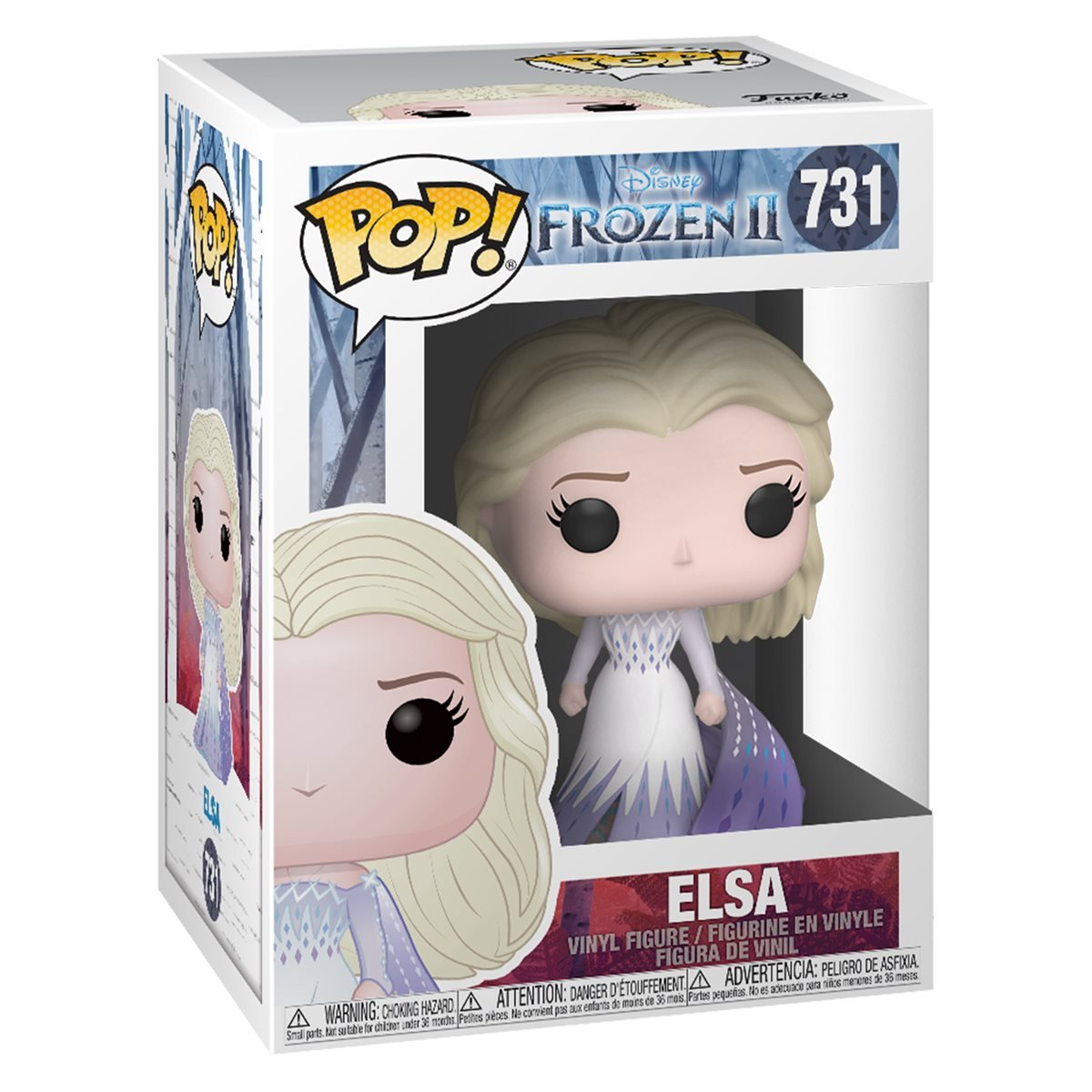 Frozen 2 Elsa Epilogue Dress Pop Vinyl Figure