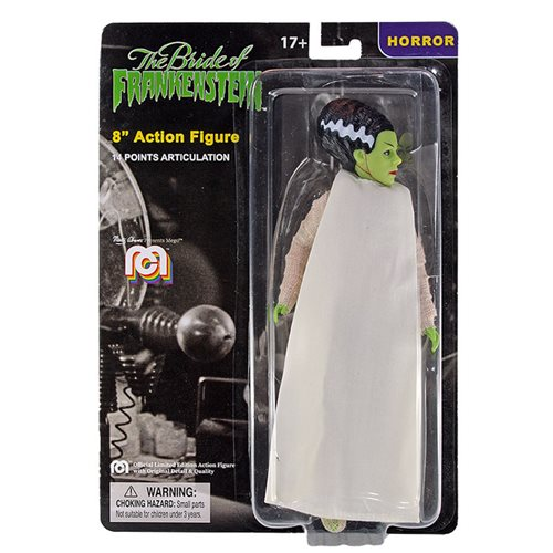 Universal Monsters Bride of Frankenstein Mego 8-Inch Action Figure
