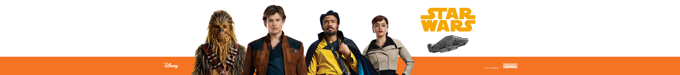 Solo A Star Wars Story banner