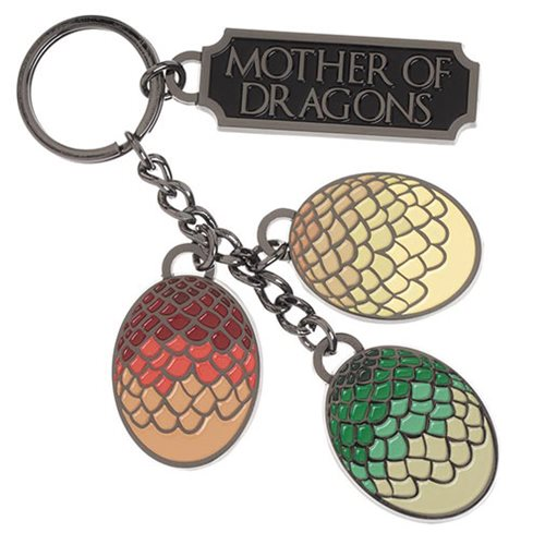Game of Thrones Mother of Dragons Key Chain