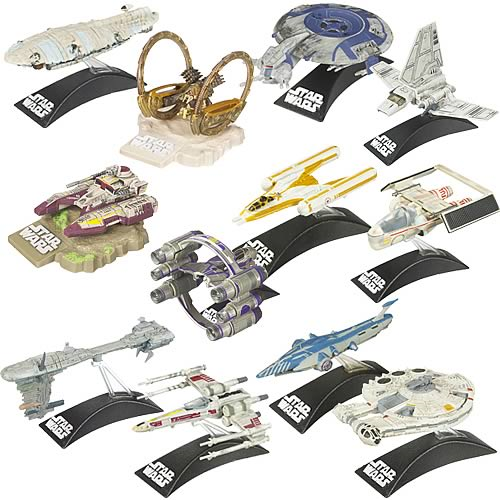 Star Wars Legacy Titanium Series Vehicles Wave 11