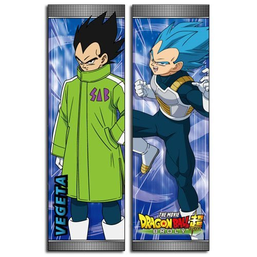 Dragon Ball Super Broly Vegeta Body Pillow