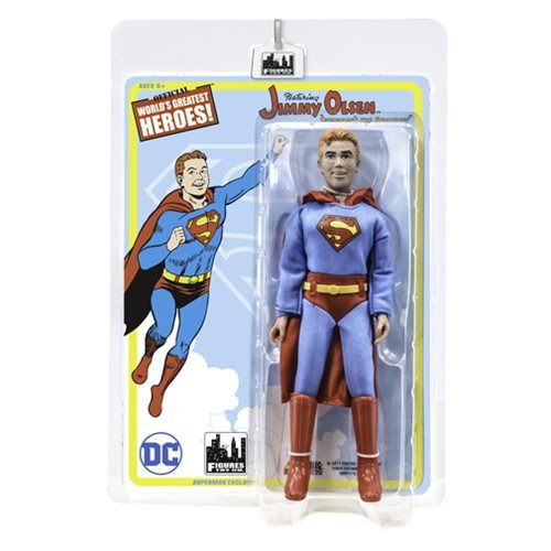 Superman Jimmy Olsen as Superman 8-Inch Action Figure