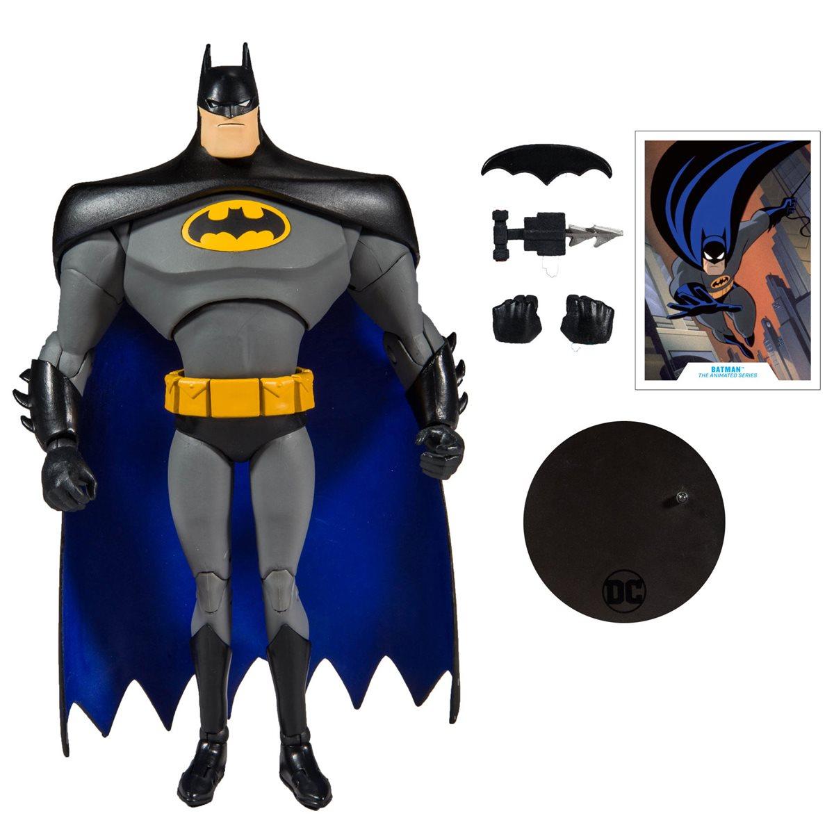 Various Batman Action Figures Opened