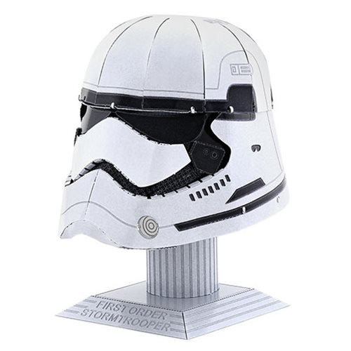Star Wars First Order Stormtrooper Helmet Metal Earth Model Kit