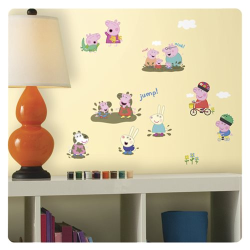 Wall Murals Peppa Pig Room Mates Toys And Games Desertcart