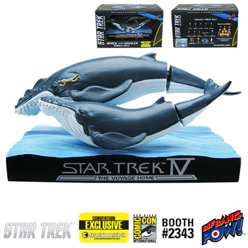 Star Trek IV: Whales with Spock Bobble Head - Convention Exclusive