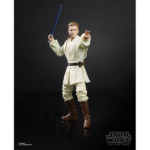 Star Wars The Black Series Obi-Wan Kenobi (The Phantom Menace) 6-Inch Action Figure