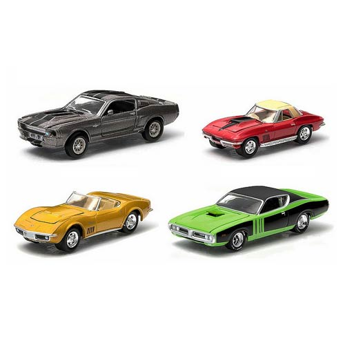 Gone in 60 Seconds Hollywood Film Reels 1:64 Scale Series 2 Die-Cast Metal  Vehicle 4-Pack