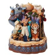 Disney Traditions Aladdin Carved by Heart Arabian Nights by Jim Shore Statue