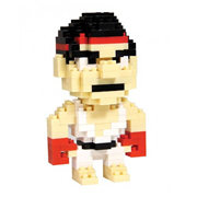 Street Fighter Ryu Pixel Bricks Constructible Figure