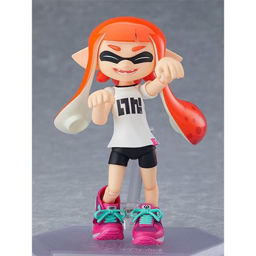 Splatoon Inkling Girl Figma Action Figure