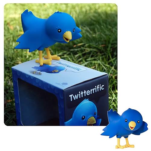 Twitter Mascot Ollie the Bird Mini-Figure
