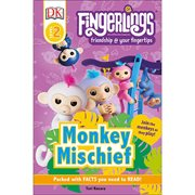 Fingerlings: Monkey Mischief DK Readers Level 2 Hardcover Book