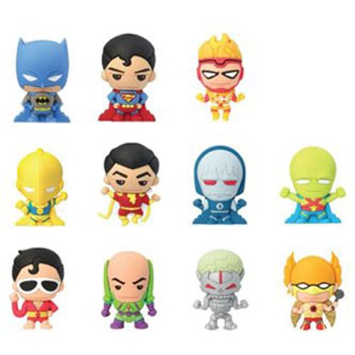 DC Super Powers 3-D Figural Key Chain 6-Pack