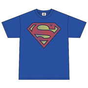 DC Originals Retro Superman Distressed Logo T-Shirt