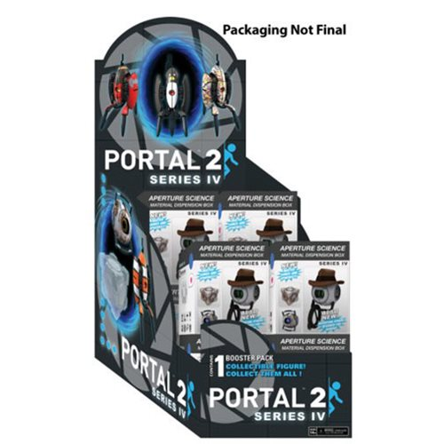 Portal 2 Series 4 Collectible Figure Random 6-Pack