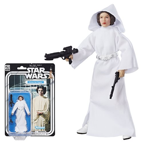 Star Wars The Black Series 40th Anniversary 6-Inch Princess Leia Action Figure