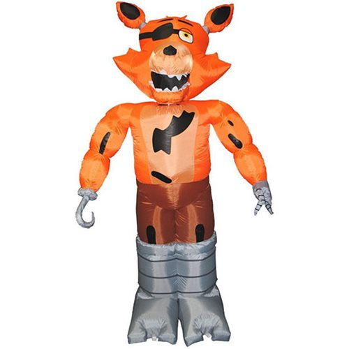Five Nights at Freddy's Animated Inflatable Foxy Decoration