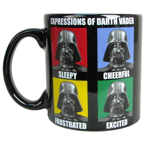 Star Wars Darth Vader Expressions 20 oz. Jumbo Ceramic Mug ...