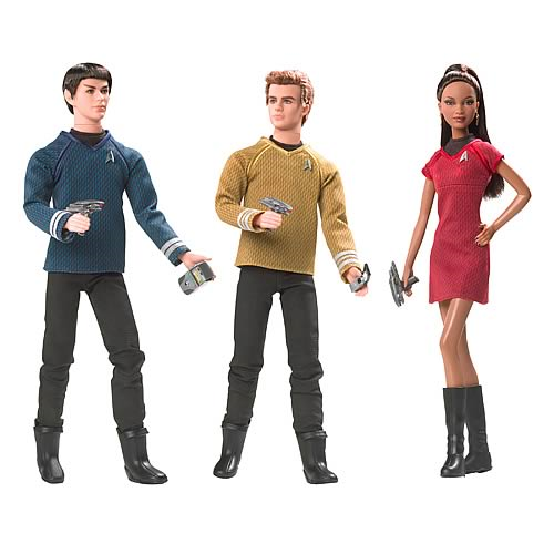 Star Trek Movie Barbie Doll Assortment Set