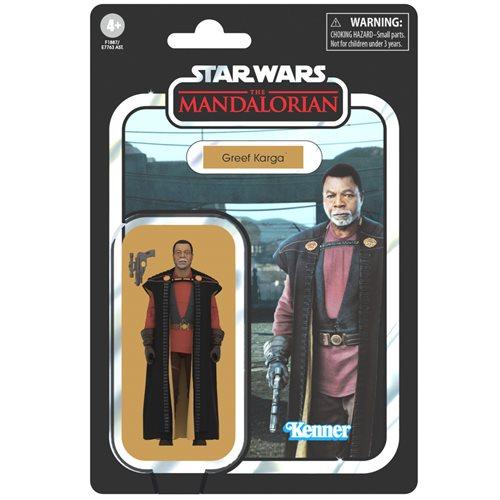 Star Wars The Vintage Collection Greef Karga 3 3/4-Inch Action Figure
