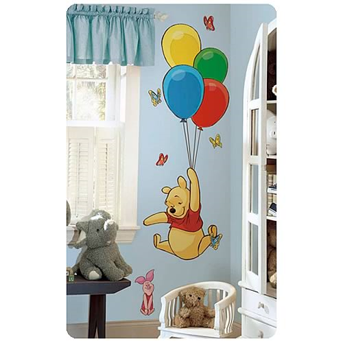 Winnie the Pooh & Piglet Peel & Stick Giant Wall Applique